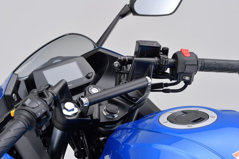デイトナからスズキのジクサー150/250/SF250用のカスタムパーツ2アイテムが2020年7月下旬に発売予定 記事1