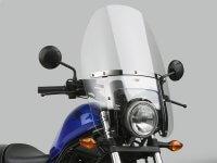 デイトナからレブル 250/500用「national cycle(TM)カスタムヘビーデューティーウインドシールド車種専用セット」が7月中旬発売 メイン