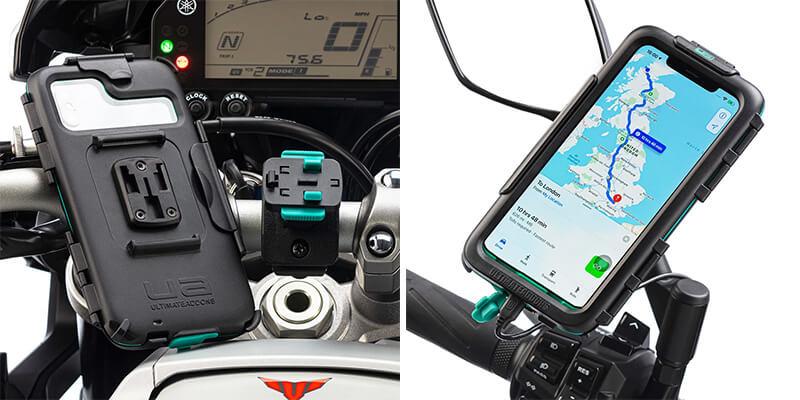 UA のバイク用スマートフォンマウントシステムに「iPhone 11 Pro 対応ハードケース」が登場 記事1