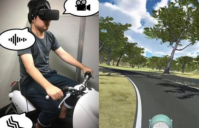 【ヤマハ】エンジン音と振動が解決のカギか「VR 酔い」について静岡大学との共同研究を発表 記事2