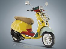 【ベスパ】コラボレーションモデル「Vespa Primavera SEAN WOTHERSPOON 125」を7/11に発売(動画あり)