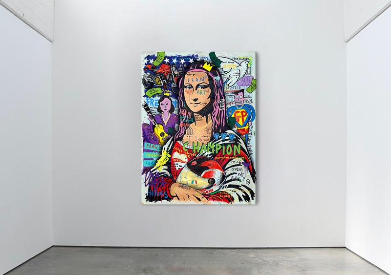 【ドゥカティ】絵画「ドゥカティ・モナリザ」のオークション収益を医療支援のために寄付 記事2