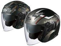オージーケーカブトのインナーサンシェード付きオープンフェイスヘルメット「EXCEED(エクシード)」にグラフィックモデル「GLIDE(グライド)」と「EXCEED SWORD(ソード)」が登場 メイン