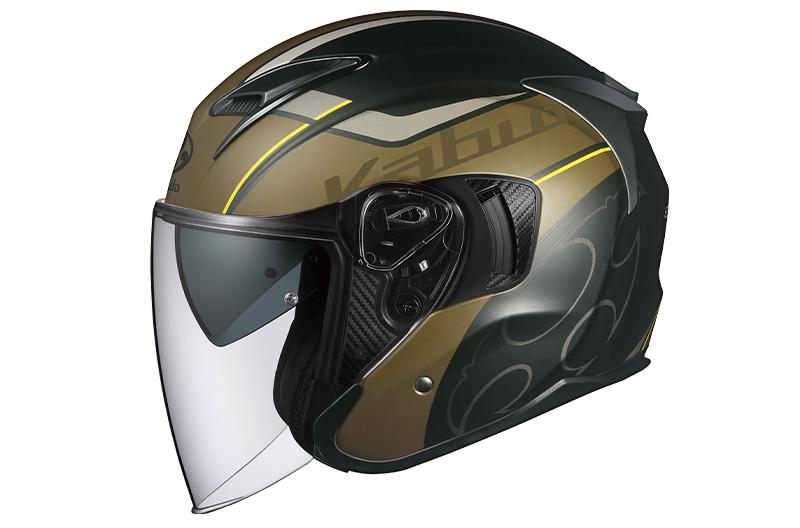 オージーケーカブトのインナーサンシェード付きオープンフェイスヘルメット「EXCEED(エクシード)」にグラフィックモデル「GLIDE(グライド)」と「EXCEED SWORD(ソード)」が登場 記事2