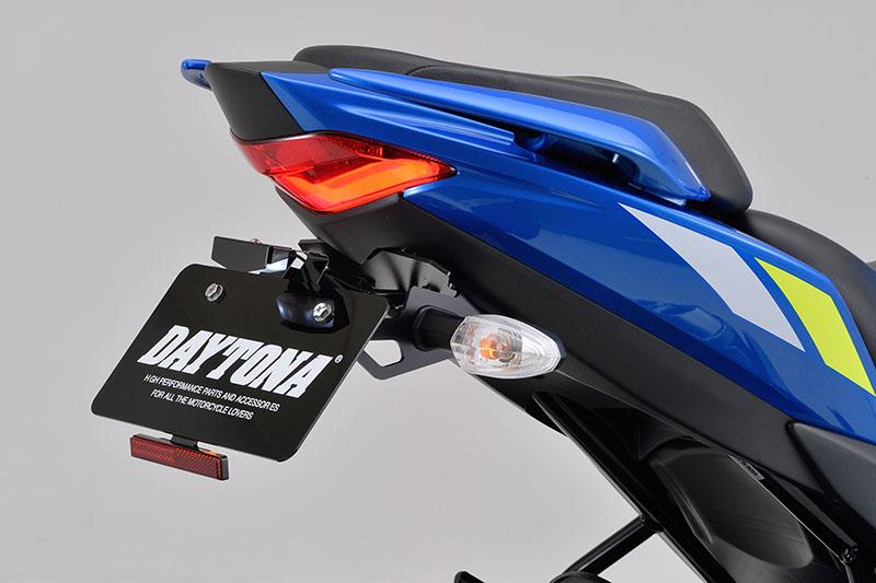 デイトナ「ジクサー250/SF250/150用フェンダーレスキット(車検対応LEDライセンスランプ付き)」メイン