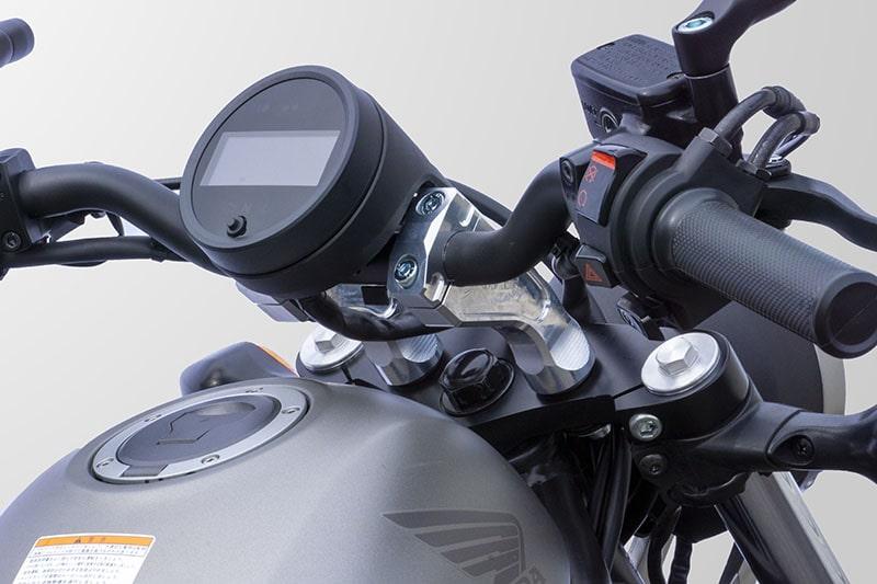 オーヴァーレーシングプロジェクツ HONDA Rebel250/500向け「ハンドルライザー」メイン