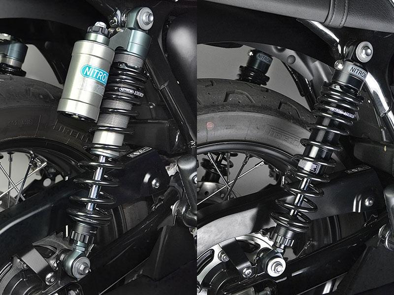 ナイトロン TRIUMPH Bonneville T100('16〜)用リアショックアブソーバー「NITRON TWIN Shock R3 Series/R1 Series」&「NITRON STEALTH TWIN R3 Series/R1 Series」メイン