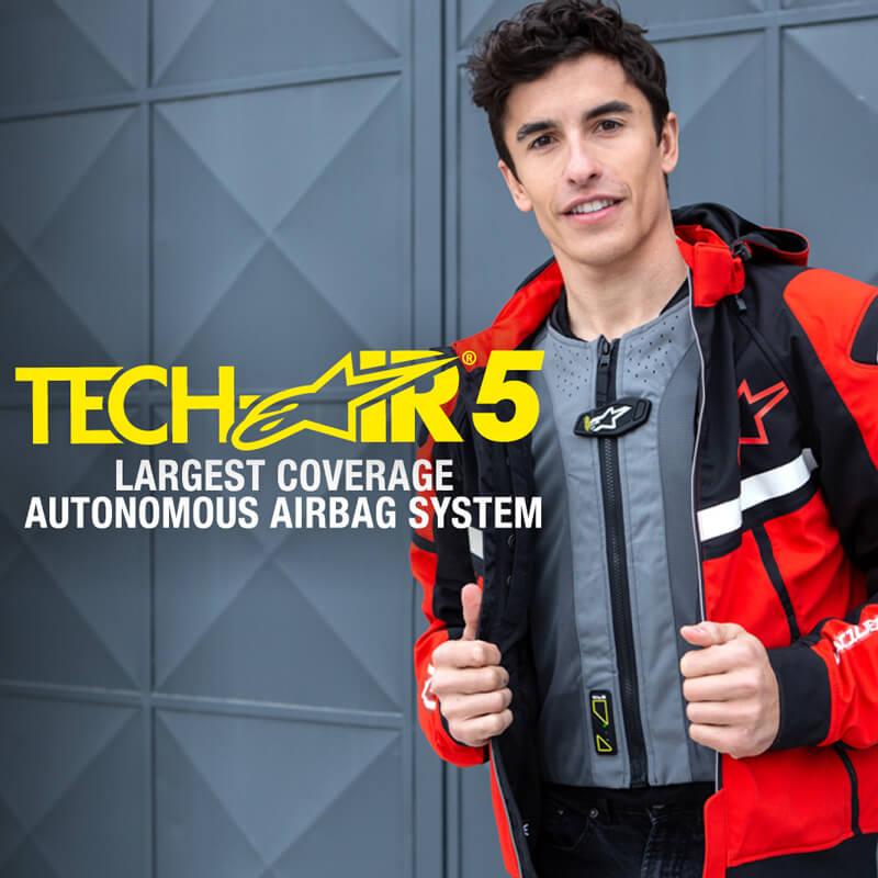 ※面倒なバイクへの接続も不要! アルパインスターズのエアバッグ「TECH-AIR(R)5」が9月下旬発売予定 メイン