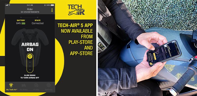 ※面倒なバイクへの接続も不要! アルパインスターズのエアバッグ「TECH-AIR(R)5」が9月下旬発売予定 記事2
