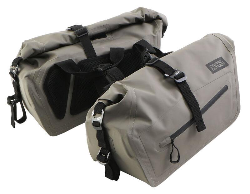 250ccのスポーツバイク専用に設計された防水サイドバッグ「ターポリンサイドバッグ25」がドッペルギャンガーからリリース 記事5