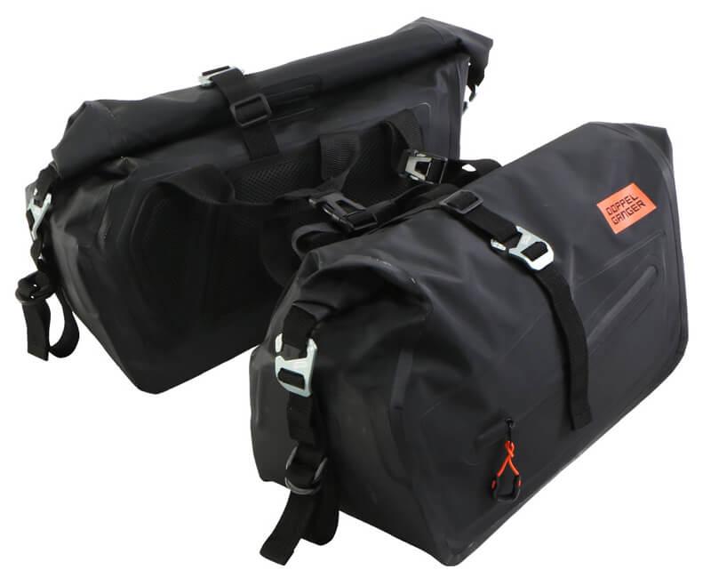250ccのスポーツバイク専用に設計された防水サイドバッグ「ターポリンサイドバッグ25」がドッペルギャンガーからリリース 記事6