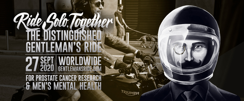 【トライアンフ】チャリティイベント「2020 Distinguished Gentleman's Ride」のオフィシャルスポンサーを務める旨発表 記事1