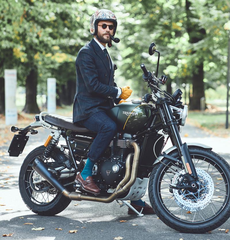 【トライアンフ】チャリティイベント「2020 Distinguished Gentleman's Ride」のオフィシャルスポンサーを務める旨発表 記事2