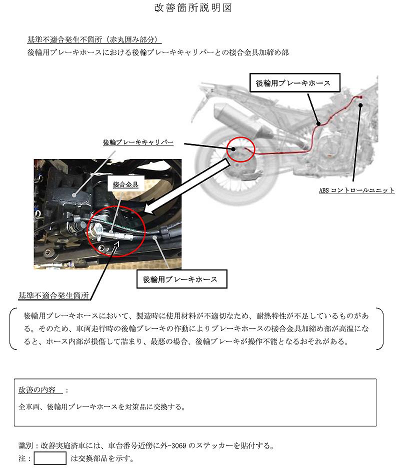 【リコール】KTM 790 ADVENTURE、790 ADVENTURE R、ほか3車種 計283台 記事2