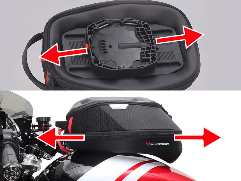 ワンタッチで着脱! アクティブから SW-MOTECH の「PRO タンクバッグ」シリーズ7モデルが発売 記事2