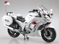 アオシマの1/12完成品バイクシリーズに「YAMAHA FJR1300P 白バイ(警視庁)」が登場! 発売は9月を予定 メイン