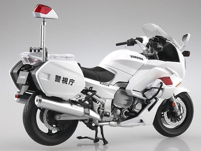 アオシマの1/12完成品バイクシリーズに「YAMAHA FJR1300P 白バイ(警視庁)」が登場! 発売は9月を予定 記事4