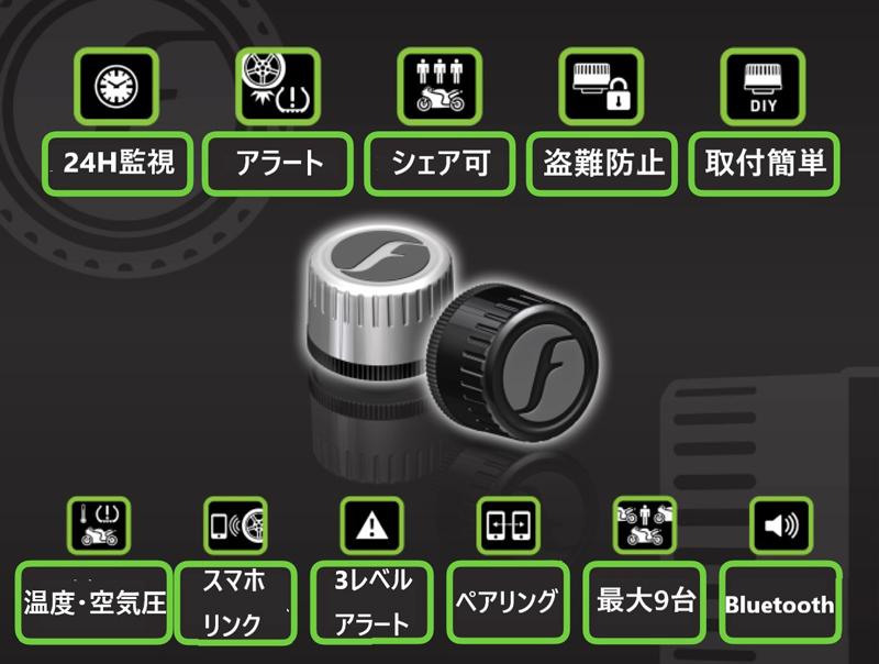 空気圧モニター「FOBOBIKE2」が日本上陸! 8/29からクラウドファンディングサイトで先行予約販売を開始 記事2