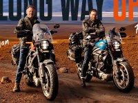 【ハーレー】ユアン・マクレガーとチャーリー・ブアマンが電動モーターサイクル「LiveWire(R)」で1万3,000マイルを走る! サムネイル