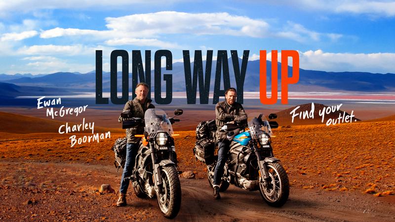 【ハーレー】ユアン・マクレガーとチャーリー・ブアマンが電動モーターサイクル「LiveWire(R)」で1万3,000マイルを走る! メイン