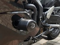 ZX-25R を転倒のダメージから守る!「R&G RACING エアロクラッシュプロテクター」がネクサスから発売 サムネイル