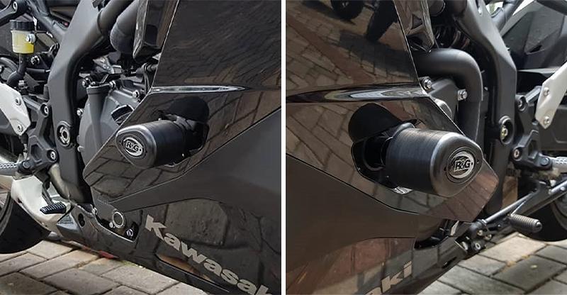 ZX-25R を転倒のダメージから守る!「R&G RACING エアロクラッシュプロテクター」がネクサスから発売 記事1