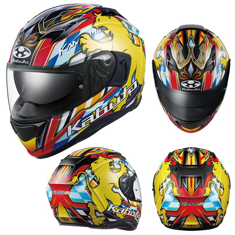 オージーケーカブトのフルフェイスヘルメット「KAMUI-3」に新グラフィックモデル「LEO」が登場 記事1