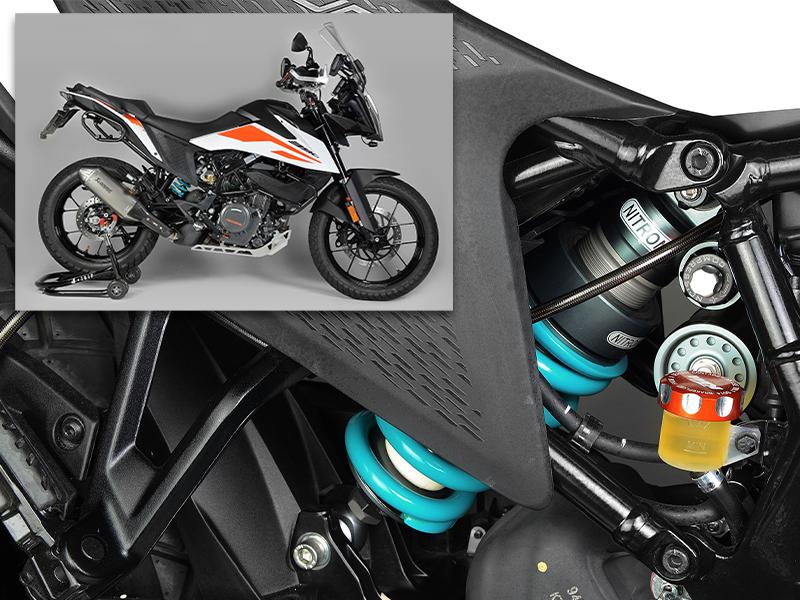 KTM 390 ADVENTURE の走りをグレードアップしてくれるリアショックアブソーバー3モデルがナイトロンから発売 メイン