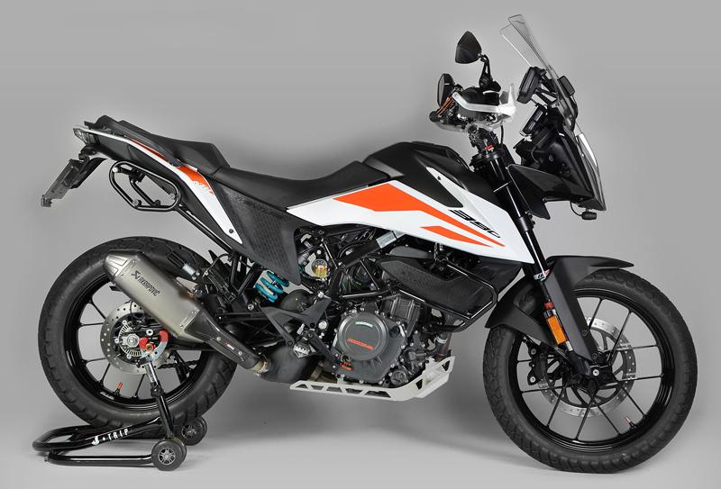 KTM 390 ADVENTURE の走りをグレードアップしてくれるリアショックアブソーバー3モデルがナイトロンから発売 記事3