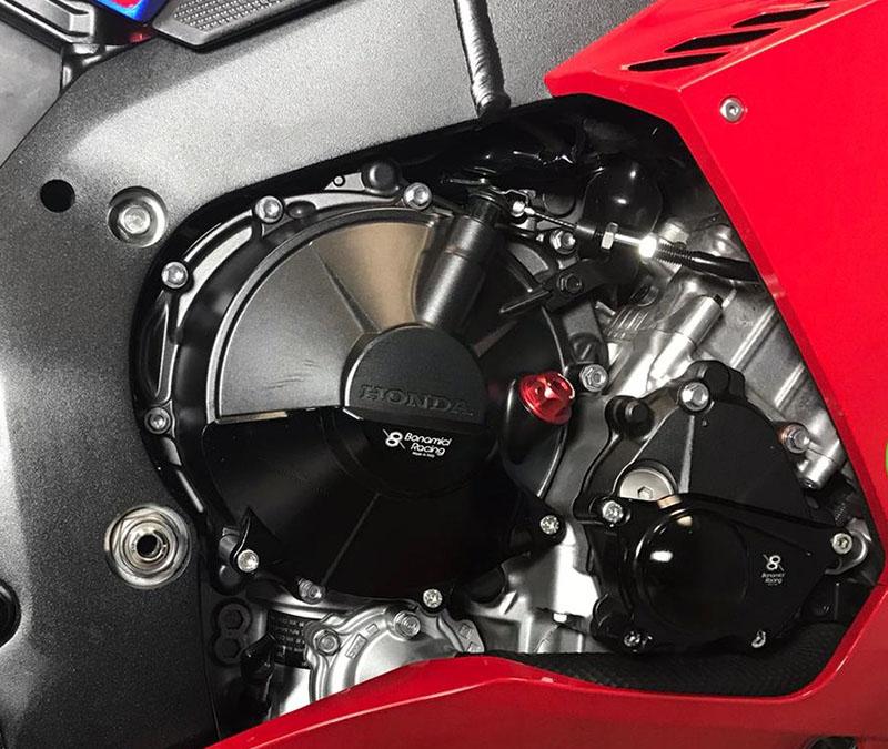 ネクサス HONDA CBR1000RR-R(20-)用「BONAMICI エンジンプロテクター」記事04