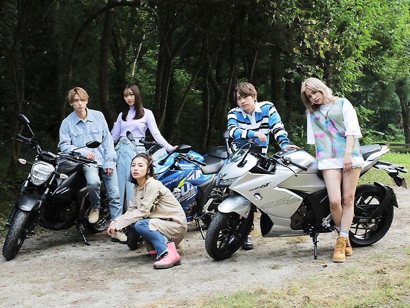 【スズキ】ジクサー250/SF250がミュージックビデオに登場! タイアップキャンペーンを10/4まで実施中 サムネイル