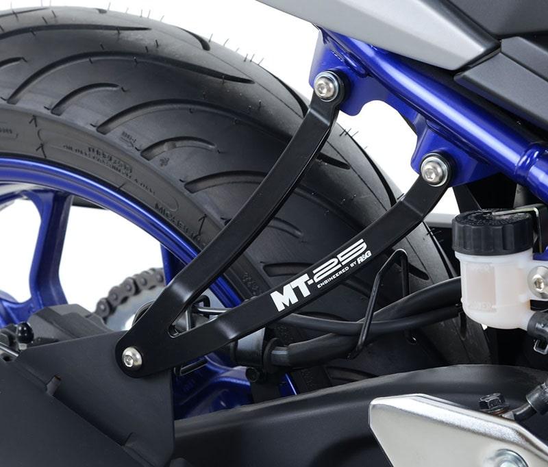 ネクサス YAMAHA MT-25(20-)用「R&G RACING エアロクラッシュプロテクター」&「R&G RACING タンクトラクショングリップ」&「R&G RACING エキゾーストハンガー」記事06