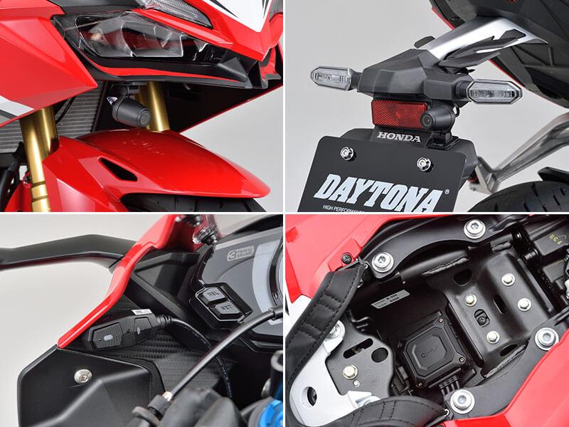 デイトナのバイク専用ドライブレコーダー「MiVue(R)M760D」が11月上旬発売 記事7