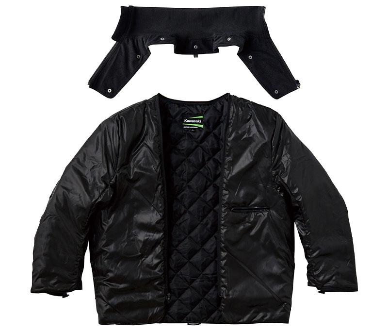 【カワサキ】BATES(ベイツ)との新作コラボレーションアイテム「カワサキ KB2W ライダースジャケット」を発売 記事4