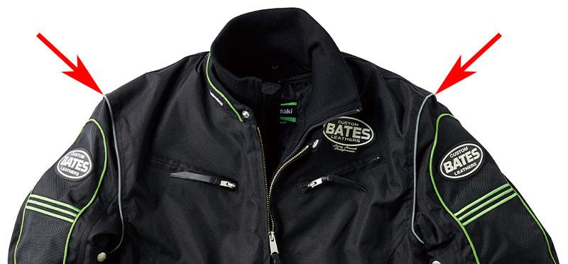 【カワサキ】BATES(ベイツ)との新作コラボレーションアイテム「カワサキ KB2W ライダースジャケット」を発売 記事5