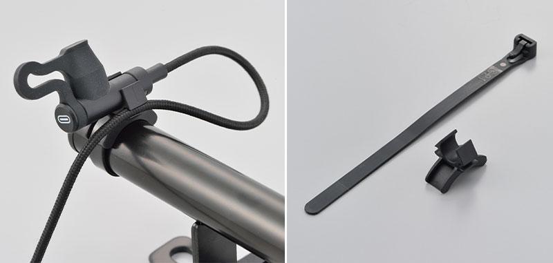 ハンドル回がスッキリするアイディア商品! デイトナから「バイク用 USB 充電ケーブル」が10月中旬発売 記事3