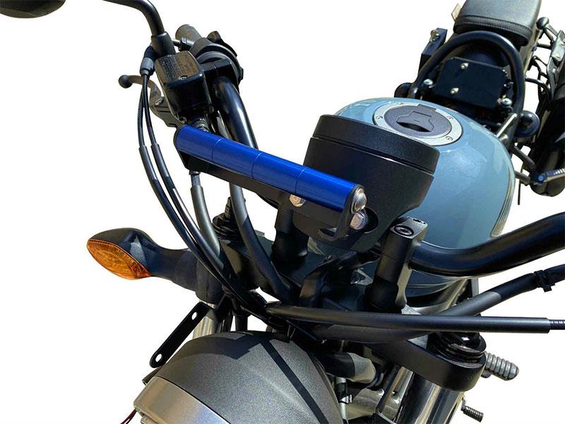 ポッシュフェイスの「車種専用スマートフォンホルダーマウントステー」に REBEL 250('18~20)用がラインナップ メイン