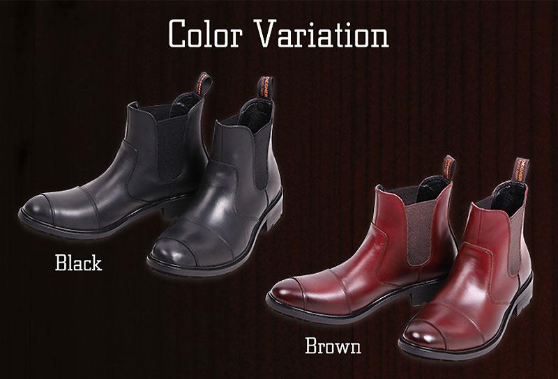 デグナーから新作レザーブーツ「Men's Side Gore Leather Boots」が発売 記事1