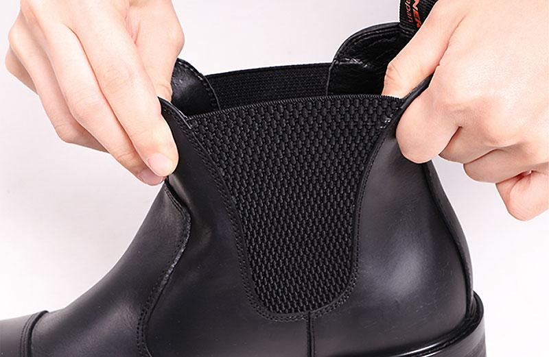 デグナーから新作レザーブーツ「Men's Side Gore Leather Boots」が発売 記事2
