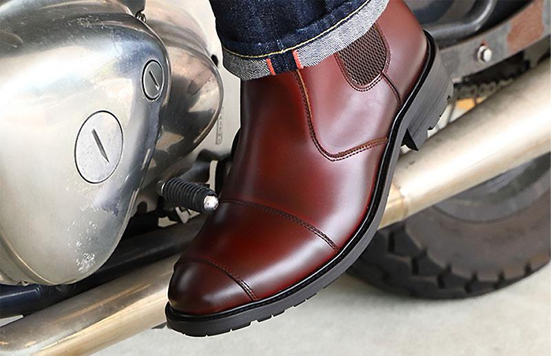 デグナーから新作レザーブーツ「Men's Side Gore Leather Boots」が発売 記事3