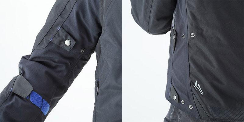 ワイズギアから防水性をプラスしたスポーツライディングジャケット「YAF65-K アキュートジャケット」が発売 記事2