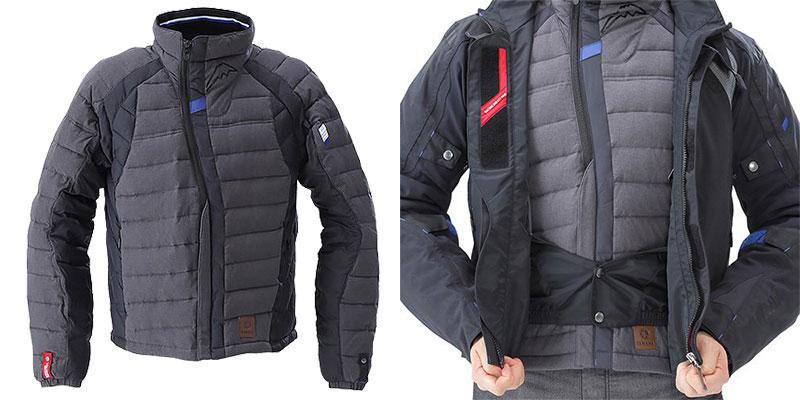 ワイズギアから防水性をプラスしたスポーツライディングジャケット「YAF65-K アキュートジャケット」が発売 3