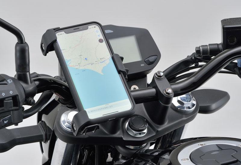 デイトナの「バイク用スマートフォンホルダー3」が11月上旬発売 メイン