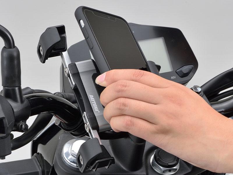 デイトナの「バイク用スマートフォンホルダー3」が11月上旬発売 記事1