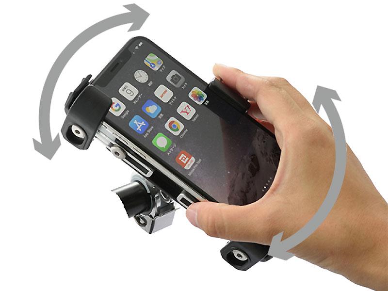 デイトナの「バイク用スマートフォンホルダー3」が11月上旬発売 記事3