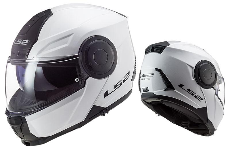インナーバイザー付きシステムヘルメットがこのプライス! LS2 HELMETS の「SCOPE」が10/16発売 記事1