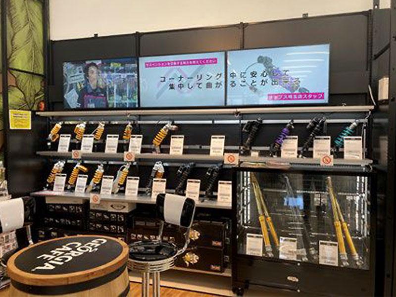 ナップスが提案するバイク用品小売店舗の新たな業務形態「ナップス DX」 記事2