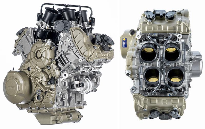 ドゥカティ 新型エンジン「V4グランツーリスモ」を公開 記事1