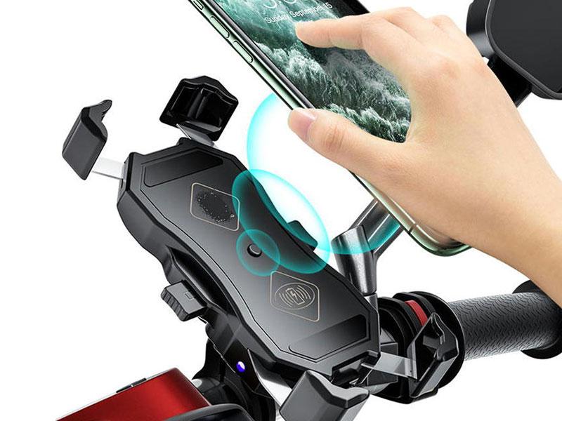 スマホをホルダーに取り付けるだけで充電! RIDEZ から「ワイヤレスチャージ&ワンプッシュホルダー」が発売 メイン