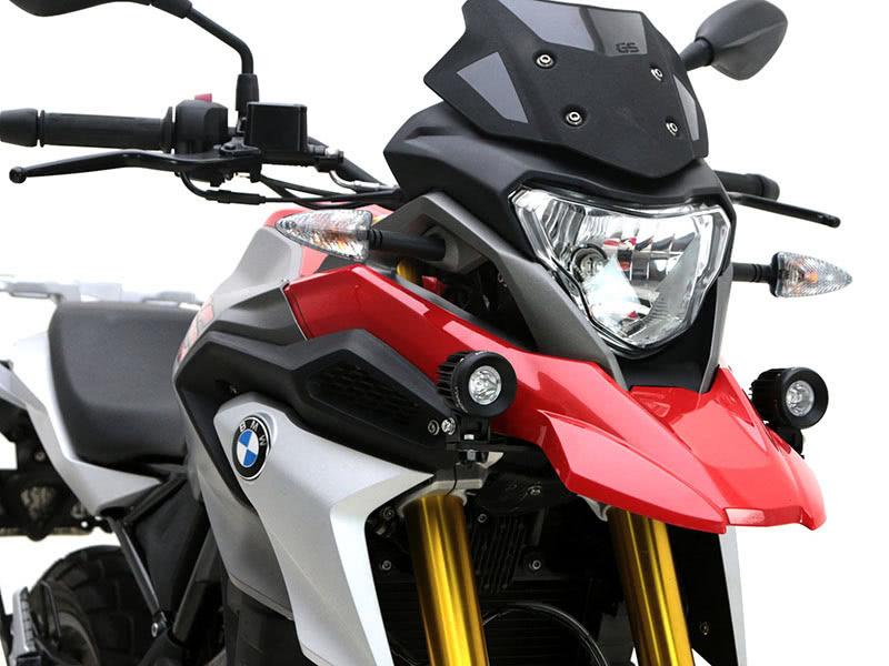 ネクサス BMW G310GS向け「補助ライトマウント」記事01
